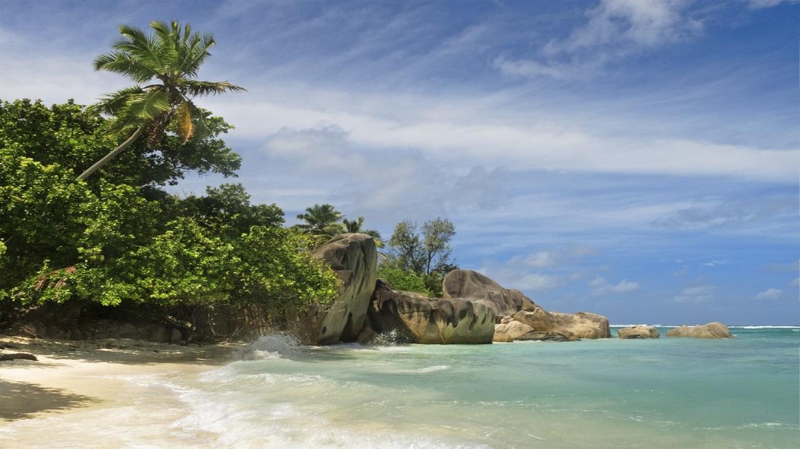 Anse Source d'Argent, La Digue island , Seychelles, Africa